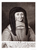 Portrait of Louise de Marillac Giclee Print by Gaspard Duchange