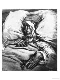 "Don Quixote Wounded, from ""Don Quixote de La Mancha"" by Miguel Cervantes Giclee Print by Gustave Doré"