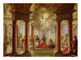 The Pool of Bethesda, 1645 Giclee Print by Dirck Van Delen