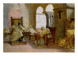 The Men of the Holy Office Giclee Print by Jean Paul Laurens
