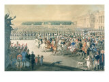 March of the Allied Forces into Paris, 1815 Giclee Print by F. Malek