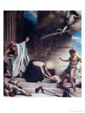 The Martyrdom of St. Denis Giclee Print by Leon Joseph Florentin Bonnat