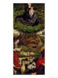 The Triptych of Moses and the Burning Bush, circa 1476 Lámina giclée por Nicolas Froment