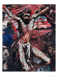 The Red Christ, 1922 Giclee Print by Lovis Corinth