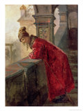 Boyar on the Porch Reproduction procédé giclée par Nikolai Vasilievich Nevrev