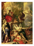 Allegory of a Reign, 1690 Gicle-tryk af Francesco Solimena