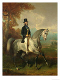 Count Alfred de Montgomery 1850-60 Premium Giclee Print by Alfred De Dreux