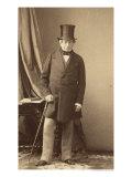 Baron James Rothschild Giclee Print by Andre Adolphe Eugene Disderi