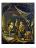 The Urine Doctor Giclee Print by Gerrit or Gerard Dou
