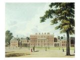 """Buckingham House, from """"The History of the Royal Residences"""" Giclee Print by William Westall"""