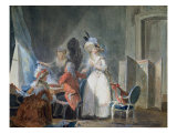 The Fashion Seller Giclee Print by Philibert-Louis Debucourt