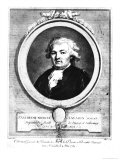 Portrait of Jean-Anthelme Brillat-Savarin, May 1789 Giclee Print by Louis Jean Allais