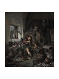The Alchemist, 1663 Giclee Print by Cornelis Bega