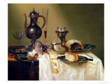 Still Life, 1642 Giclee Print by Willem Claesz. Heda