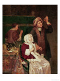 The Doctor's Visit Giclee Print by Frans Van Mieris