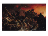 The Last Days of Pompeii Giclee Print by Henri-frederic Schopin