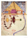 "Water Pump, from ""Treaty on Mechanical Procedures"" by Al-Djazari, 1206 Giclee Print"