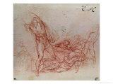 The Resurrection of Christ, circa 1536-38 Giclée-Druck von  Michelangelo Buonarroti
