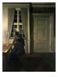 The Collector of Coins, 1904 Giclee Print by Vilhelm Hammershoi