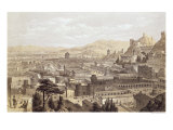 The City of Ephesus from Mount Coressus, 1859 Giclee Print by E. Falkener