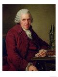 Portrait of Louis Jean Marie Daubenton 1791 Giclee Print by Alexander Roslin