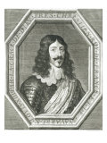Portrait of Louis XIII Engraving by Jean Morin Giclee Print by Philippe De Champaigne