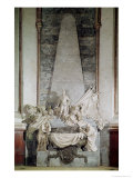 Tomb of Marshal Maurice de Saxe 1756-77 Giclee Print by Jean-baptiste Pigalle