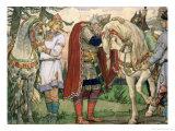 The Song of Prince Oleg, 1899 Giclée-Druck von Victor Mikhailovich Vasnetsov
