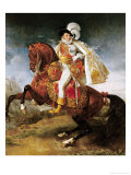 Equestrian Portrait of Jerome Bonaparte 1808 Giclee Print by Baron Antoine Jean Gros