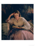 Reading, 1863 Giclee Print by Ivan Nikolaevich Kramskoy