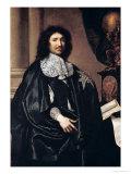Portrait of Jean-Baptiste Colbert de Torcy 1666 Premium Giclee Print by Claude Lefebvre