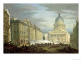 Siege of the Pantheon, 24th June 1848 Giclee Print by Nicolas Edward Gabe
