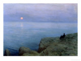 Alexander Pushkin at the Seashore, 1896 Giclee Print by Leonid Osipovic Pasternak