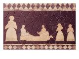 Sacrificial Scene Lámina giclée por  Mesopotamian