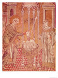 The Baptism of St. Paul by Ananias, from Scenes from the Life of St. Paul Giclee Print