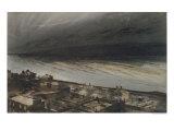 Marine-Terrace, Jersey, 1855 Giclee Print by Victor Hugo