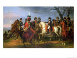 Napoleon Giving Orders Before the Battle of Austerlitz, 2nd December 1805, 1808 Giclee Print by Antoine Charles Horace Vernet
