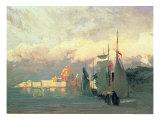 On the Neva Giclée-Druck von Fedor Aleksandrovich Vasiliev
