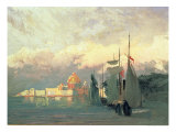 On the Neva Giclee Print by Fedor Aleksandrovich Vasiliev