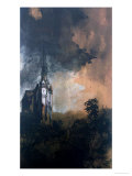 The Castle in the Moonlight Giclee Print by Victor Hugo
