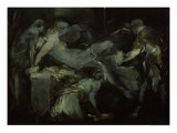 The Birth Scene Giclee Print by Jean-Baptiste Carpeaux