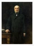 Portrait of Jules Grevy 1880 Giclee Print by Leon Joseph Florentin Bonnat