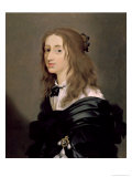 Queen Christina of Sweden 1652 Giclee Print by Sebastien Bourdon