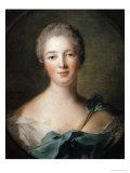 Madame de Pompadour 1748 Giclee Print by Jean-Marc Nattier