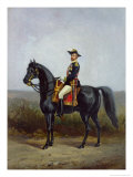 Equestrian Portrait of General George Ernest Boulanger Giclee Print by Daniel Alexander Williamson