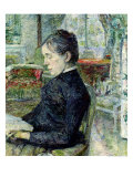 Adele Tapie de Celeyran Countess of Toulouse-Lautrec-Monfa in the Salon of Chateau de Malrome, 1887 Giclee Print by Henri de Toulouse-Lautrec
