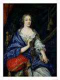 Portrait of Francoise-Louise de La Baume Le Blanc Duchesse de Vaujour Giclee Print by Jean Nocret