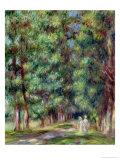 Path in a Wood, 1910 Giclee Print by Pierre-Auguste Renoir