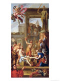 The Martyrdom of St. Adrian, 1659 Giclee Print by Adrien Sacquespee