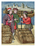 The Measure and Transport of Wine Giclée-Druck von Antoine Verard